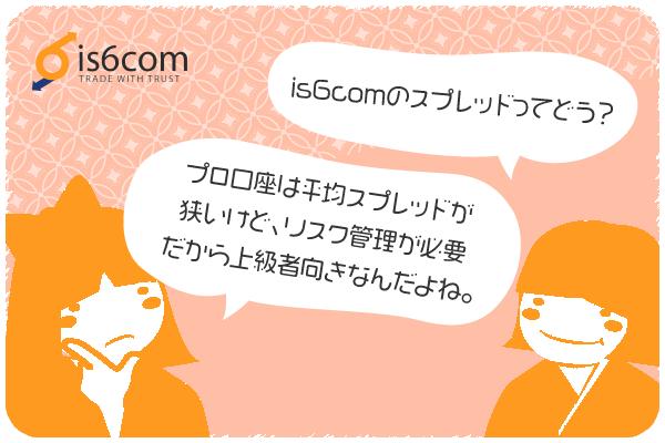 is6comのスプレッドは?のアイキャッチ画像