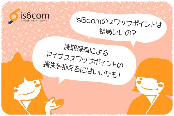 is6comのスワップポイントまとめのアイキャッチ画像