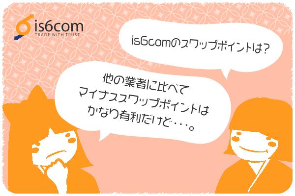 is6comのスワップポイントのアイキャッチ画像