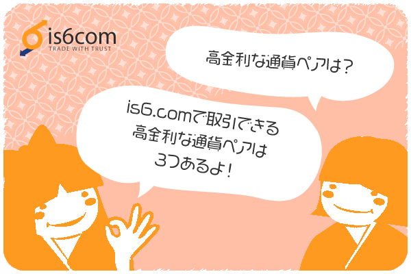 is6comの高金利通貨ペアのアイキャッチ画像
