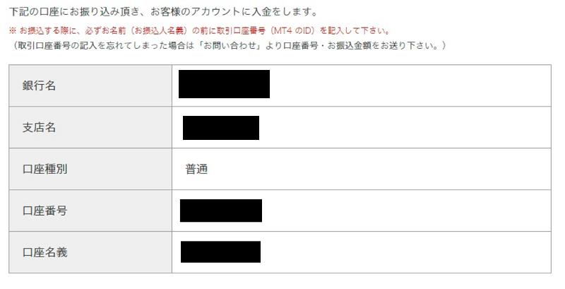 is6com 銀行送金 入金情報